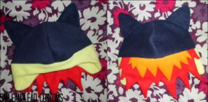 Typhlosion Hat by SmileAndLead
