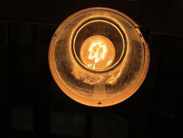 The Old Orange Light 1 by Windthin