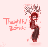 .:Thoughtful Zombie:. by m5w