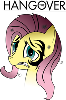 Hangover Fluttershy by ShySolid
