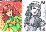 X-Men Sketch Cards by Ronron84