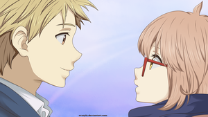 Kyoukai No Kanata - Coloring by BakanoGabi