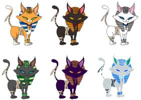 Bastet: Multiple color theory by Verde13