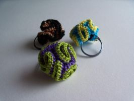 Flower Rings by SioniWinwns