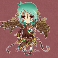 Owl Custom Adoptable for Faize by BeesHoneypot