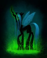 Queen Chrysalis by LaurenMagpie