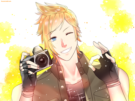 Prompto Argentum by Lha-san