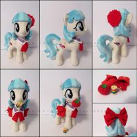 Plushie: Coco Pommel + Acces - My Little Pony: FiM by Serenity-Sama