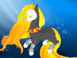 Aphrodite the Finnedyr by Pi-xie