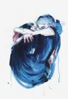 the noise of the sea by agnes-cecile