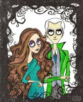 Dramione. Family Portrait by AgriAgripina