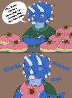 Tops eat too many pies then get fatter 1-3 by MCsaurus