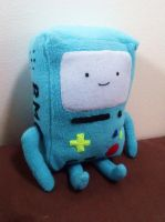 Beemo plushie by curry-brocoli