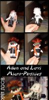 DGM: Micro Plushies 1 by Heliotrope-Housecat