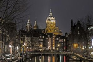 Amsterdam Church by bladz56