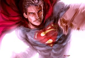 He's here ! MAN OF STEEL by YTNAS