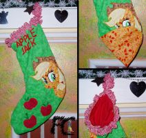 Apple Jack X-mas Stocking by kelseyleah