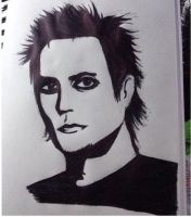 Synsyter Gates pen drawing by foREVerA7Xfan