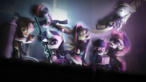 SFM: Saints Row Ponies At The Top Of Equestria by Dragon-V0942