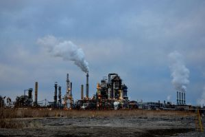 Oil Refinery 5 by FairieGoodMother