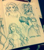 Sketch Madness by animaddict
