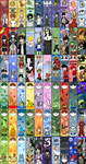 Over 100 Anime/Video Game Bookmarks: Part 1 by eyfey