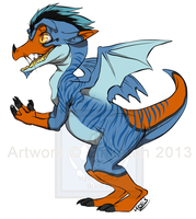 [Point Adopt] - Baby Western Dragon CLOSED by Linkaton