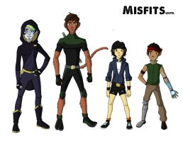 Misfits UNTD Characters by Sayomi101