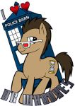 Everyone Loves Doctor Whooves by ScuttlebuttInk