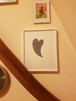 Valentines heart framed by simmy1984