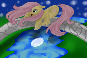 The Moon, The River, and the Fluttershy by royalppurpl3