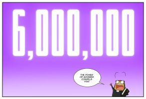 Six Million Pageviews by jollyjack