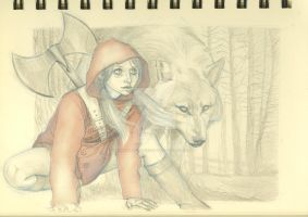 Little Red Riding Hood by wanderlust-pixiedust