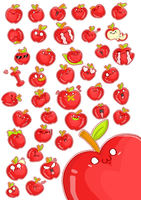 40 Apple Icons Pack by meiji1990