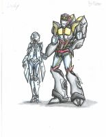 TFPrime: Lucky and Fogfaze by Israel42