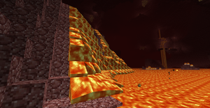 Epic Nether Lavafall by bloxxer33