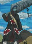 Kisame in oil painting by AkatsukiFan505
