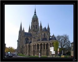 Bayeux, Cathedral - 1 by J-Y-M