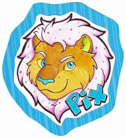 Pix Badge by dragonmelde