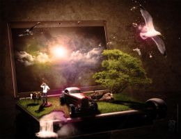 bring your imagination by whiteand