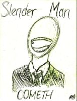 Slender Man by MicahMediocre