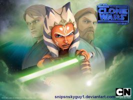 Clone Wars Season 4 Wallpaper by snipsnskyguy1
