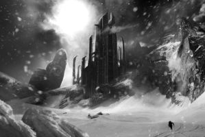 Matte painting by waltrex