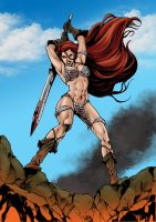 Red Sonja by firepunk626