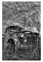 Where cars go to die by Ticklemetimebomb