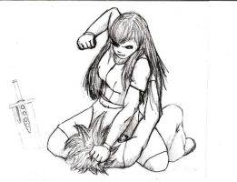 Tifa and Cloud - Tough Love by firstdondiego