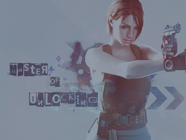 Jill Valentine Master of Unlocking by BriellaLove