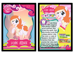 Dusk Shine Trading Card by Cookie--Bear