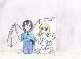 Angel and Demon by Silvereye12