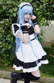 Original Character: Maid 1 by DEATHNOTE---L